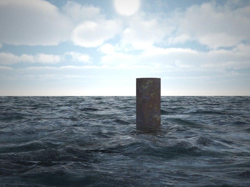 3d Text Live Wallpaper Sea Ocean 3d Model