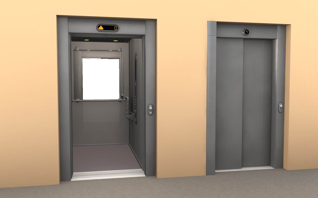 3d Appartement 3ds Max Elevator Office Apartment Building
