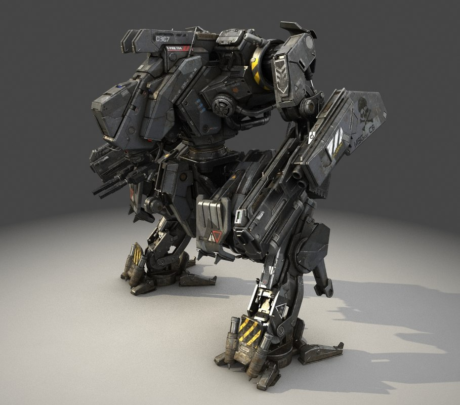 Android Animated Wallpaper Tutorial Mech Robot Obj