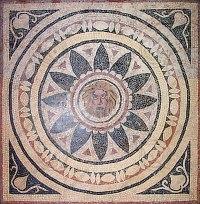 Texture Other Roman tiles Mosaic