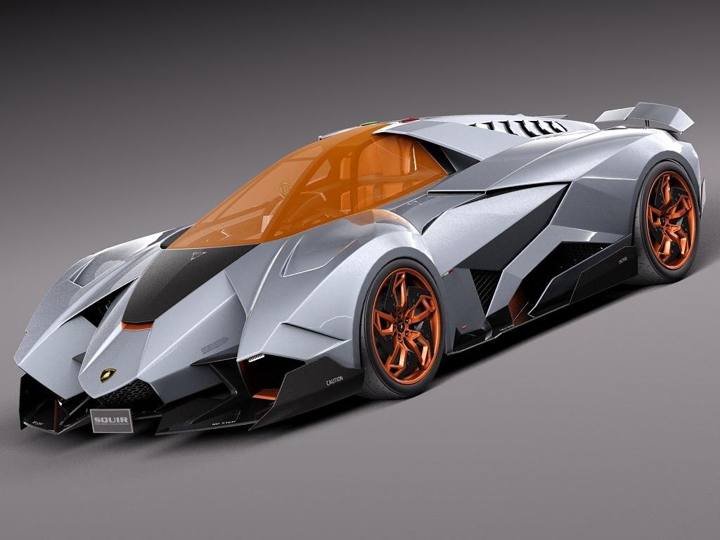 Fall Wallpaper 4d 3d Concept Lamborghini Egoista