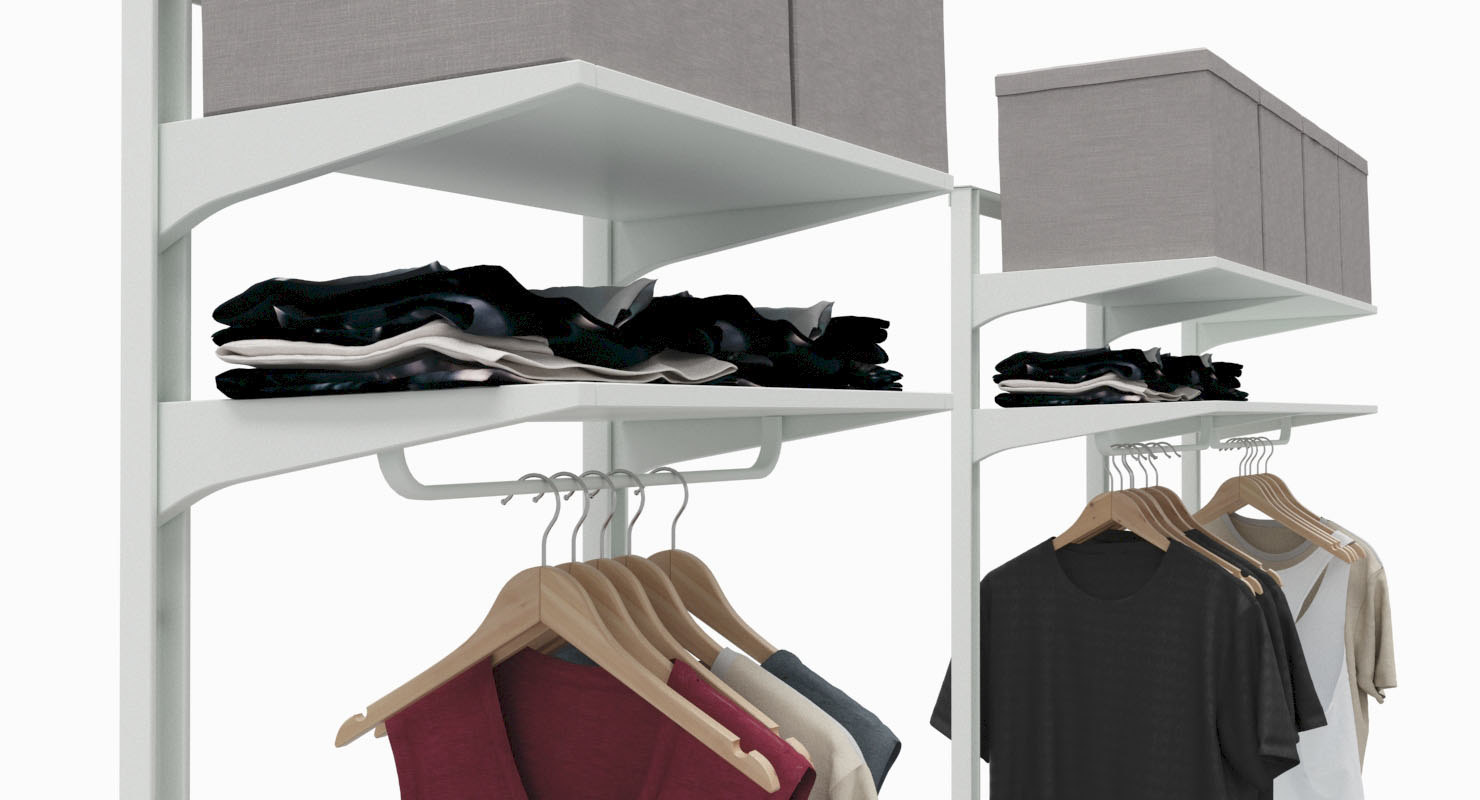 Clothes Storage Ikea Algot Clothes Storage System