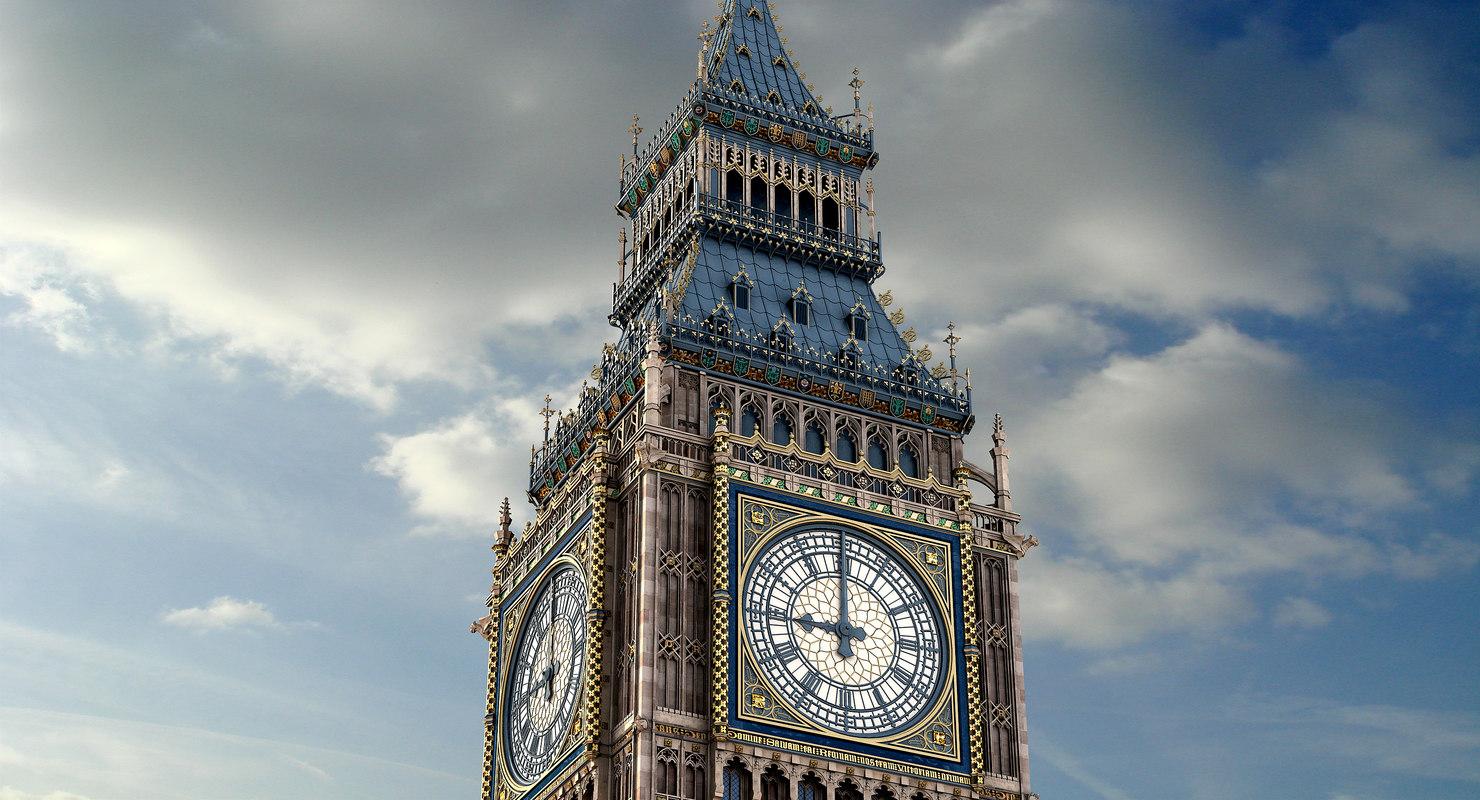 Clock Tower 3d Live Wallpaper S Max Big Ben