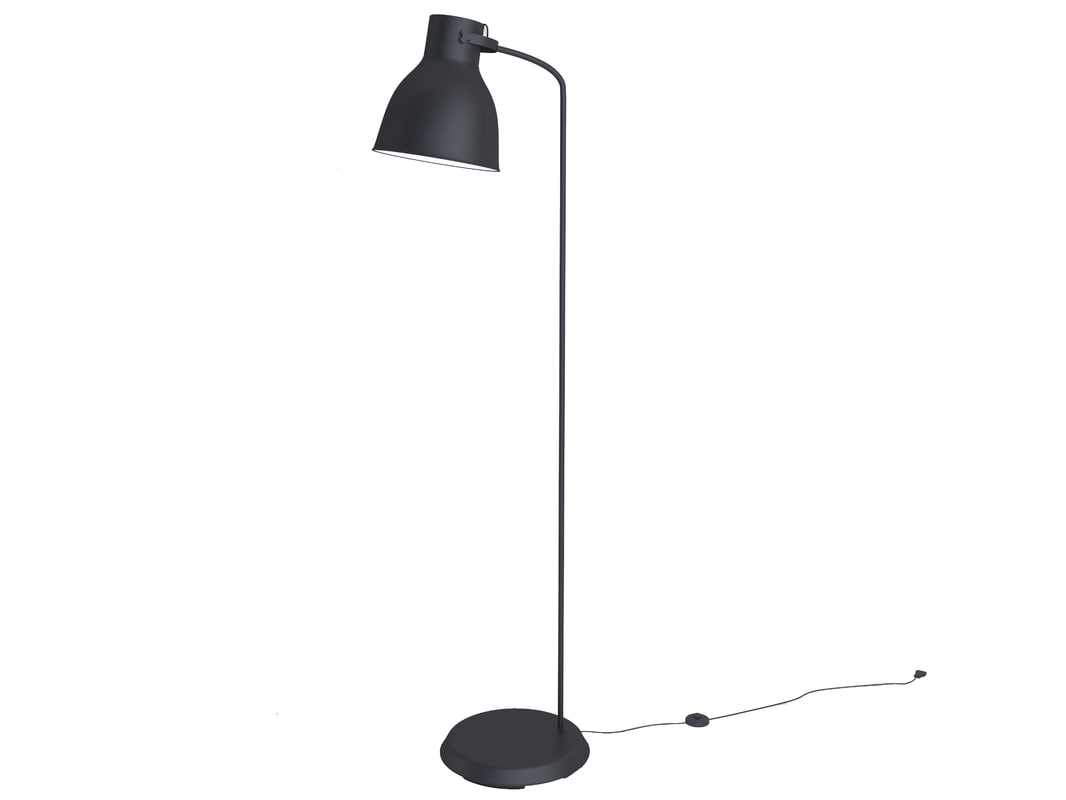 Ikea Hektar Lamp Free Ikea Hektar Floor Lamp 3d Model