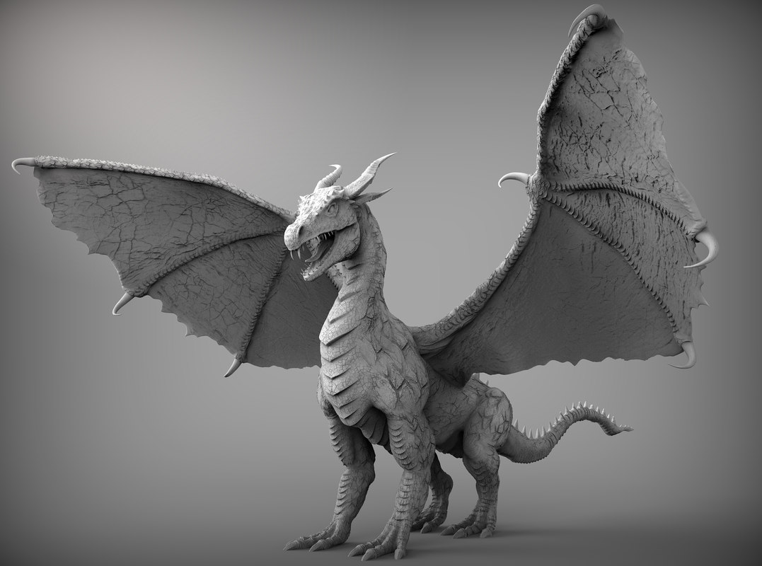 3d Tree Live Wallpaper Dragon Zbrush Ztl 3d Model