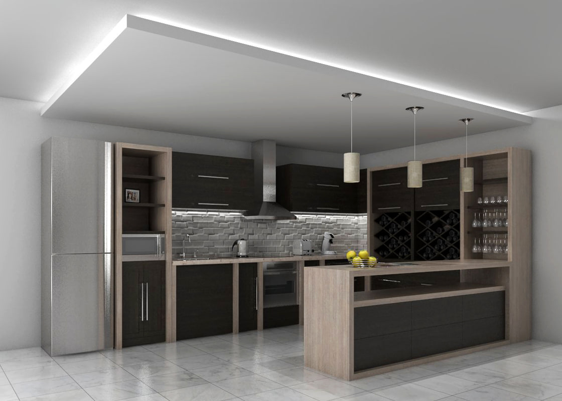 Kitchen Design 3d Model 3d Kitchen Design Interior Model