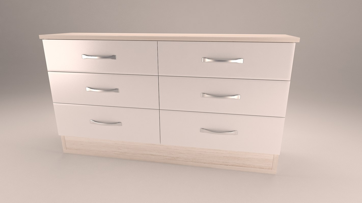 Commode Maya But 3d Model Commode Achat