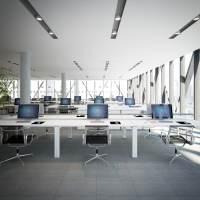 commercial office interior 3d model