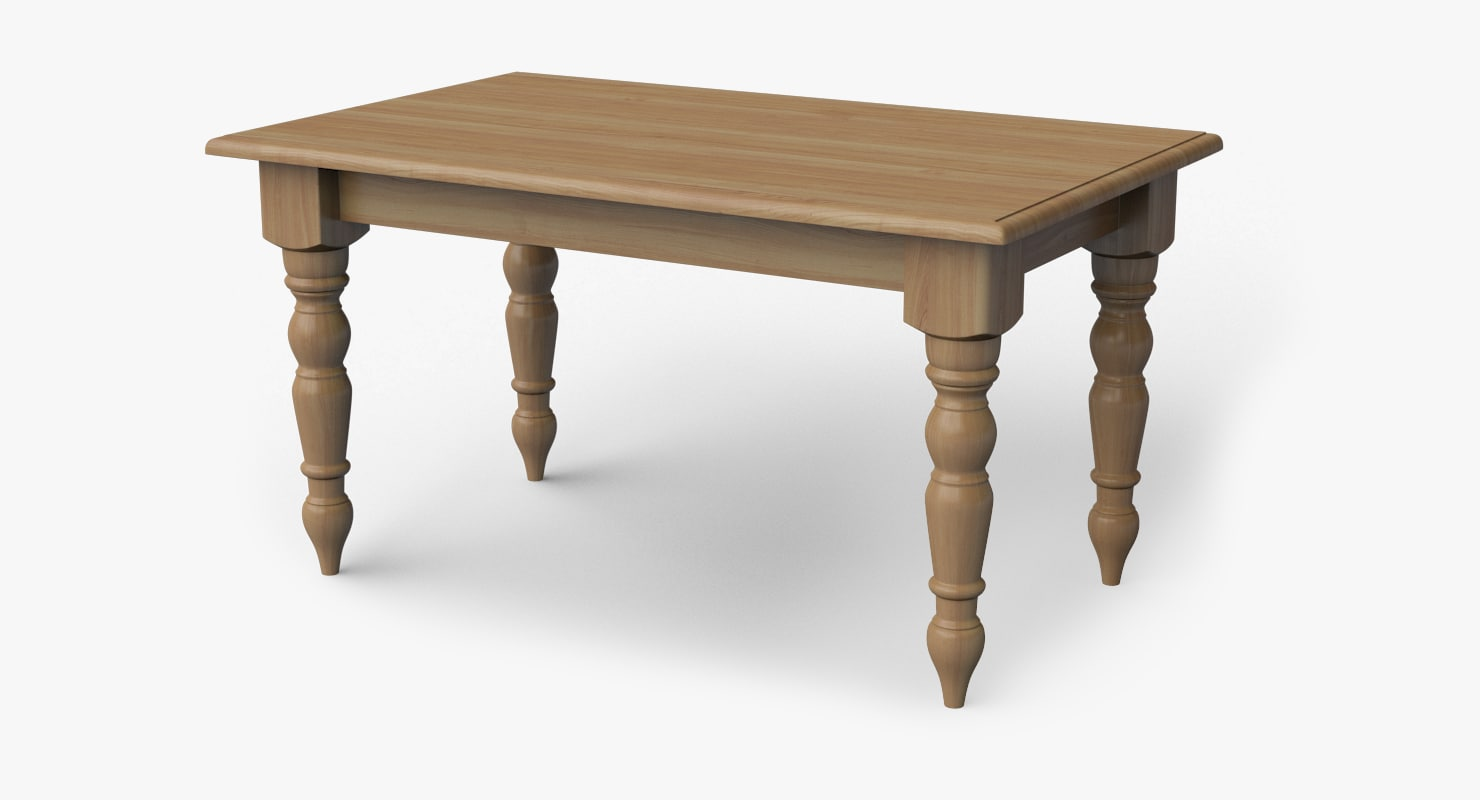 Max A Table Room Table 3d Max