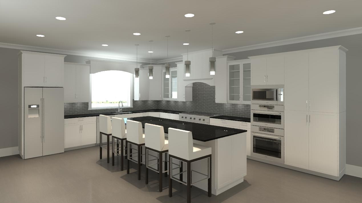 Colorful Revit City Kitchen Composition - Kitchen Cabinets | Ideas ...