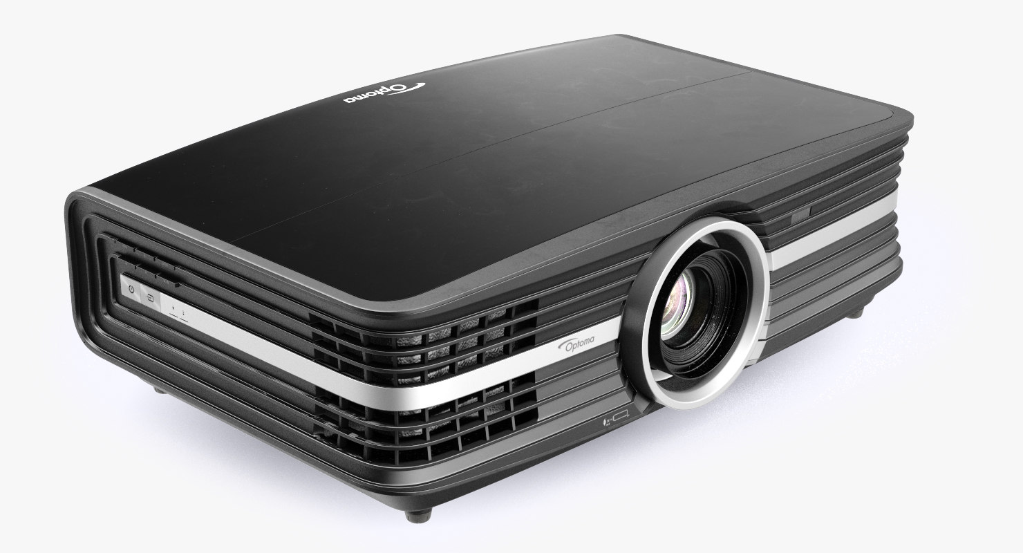 Optoma 3d Optoma Uhd60 4k Home Theatre Projector Black