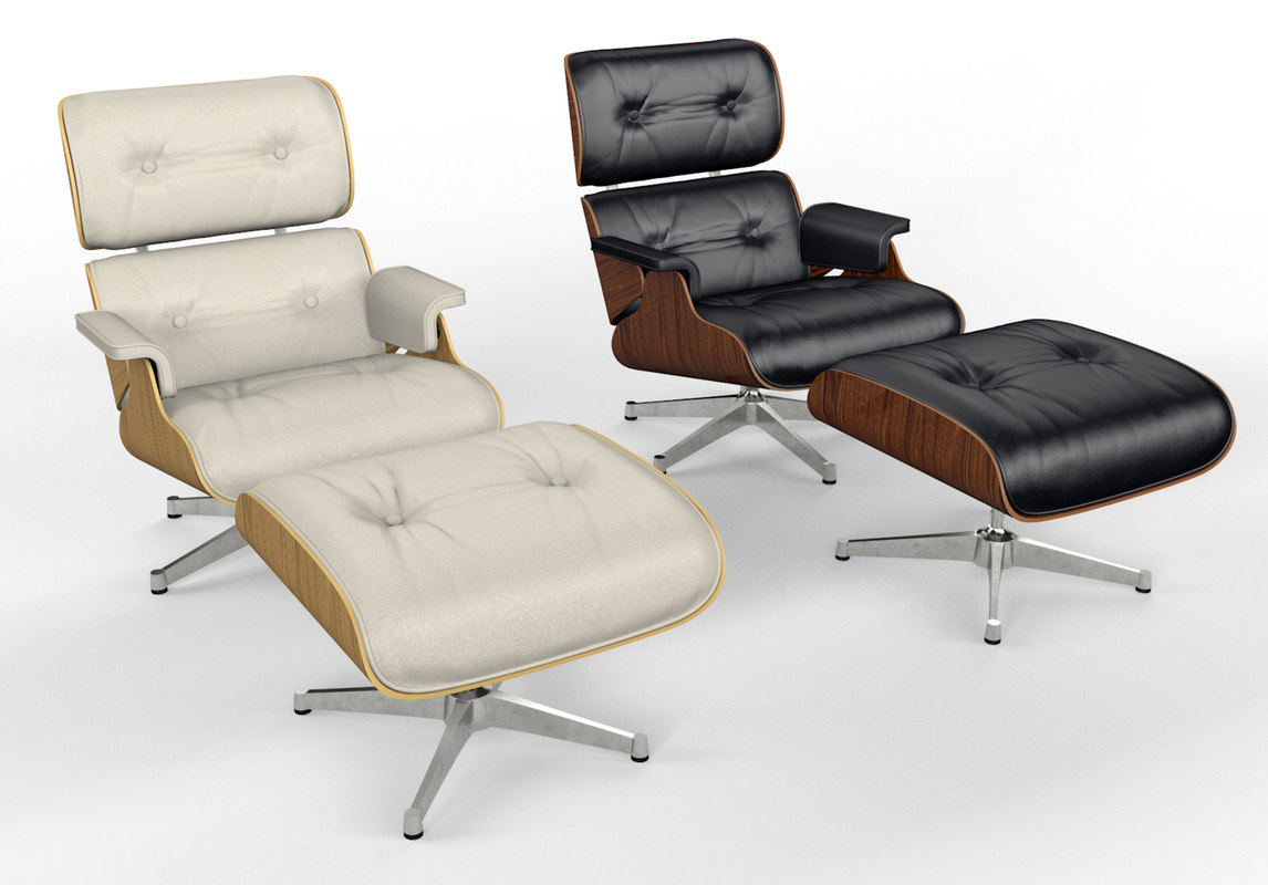 Charles Eames Eames Vitra Lounge Chair And Ottoman
