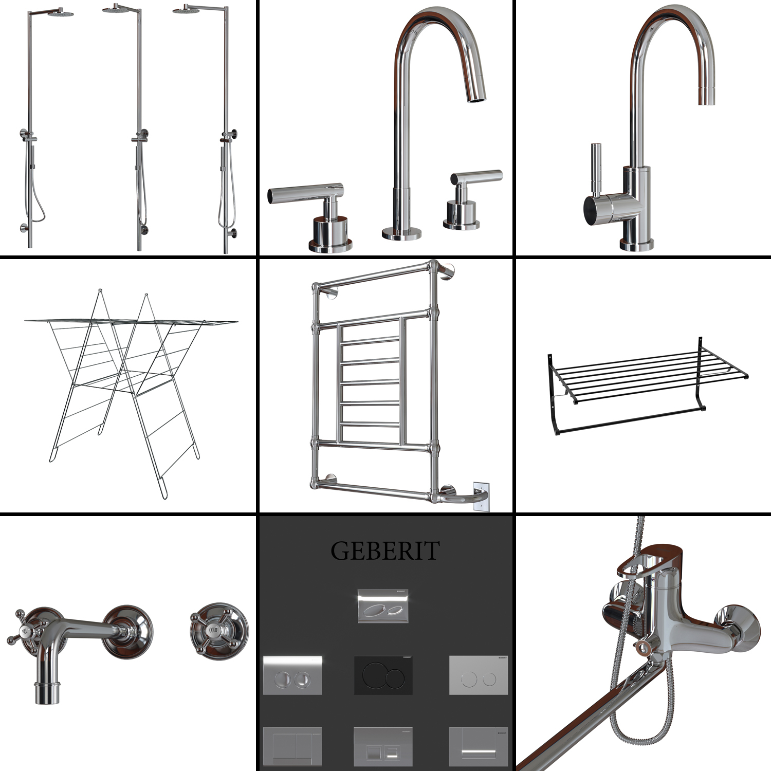 Axor Starck V Faucet Bathroom Set 2