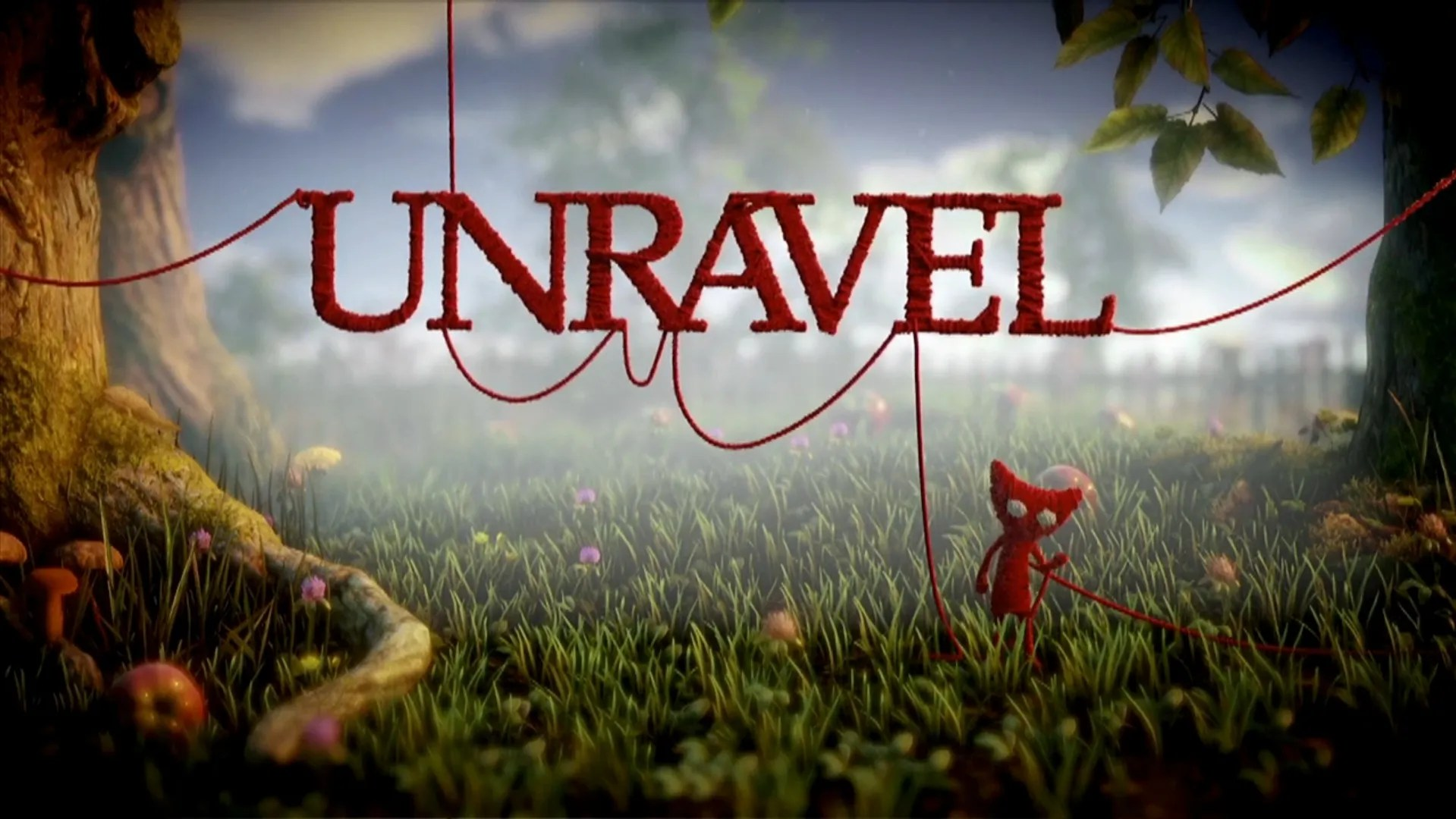 String Quotes Wallpaper Unravel Video Game Tv Tropes
