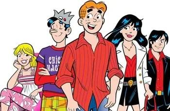 Back Side Girl Wallpaper Archie Comics Franchise Tv Tropes