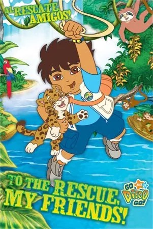 Friends Series Quotes Wallpaper Go Diego Go Western Animation Tv Tropes