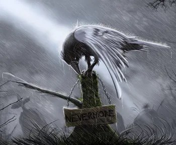 New Sad Girl Wallpaper Creepy Crows Tv Tropes