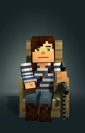 Boy And Girl In Room Minecraft: Story Mode / Characters - Tv Tropes