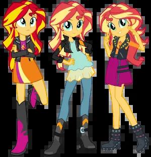 Falling Money 3d Live Wallpaper My Little Pony Equestria Girls Sunset Shimmer