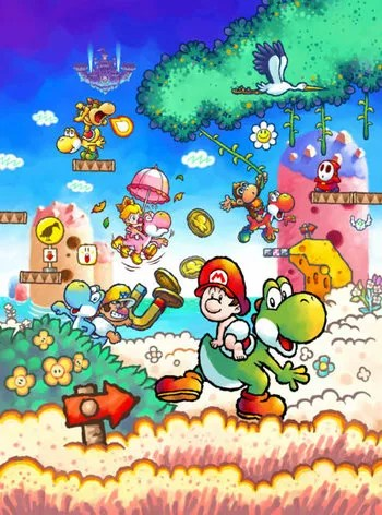 Friends Series Quotes Wallpaper Yoshi S Island Ds Video Game Tv Tropes