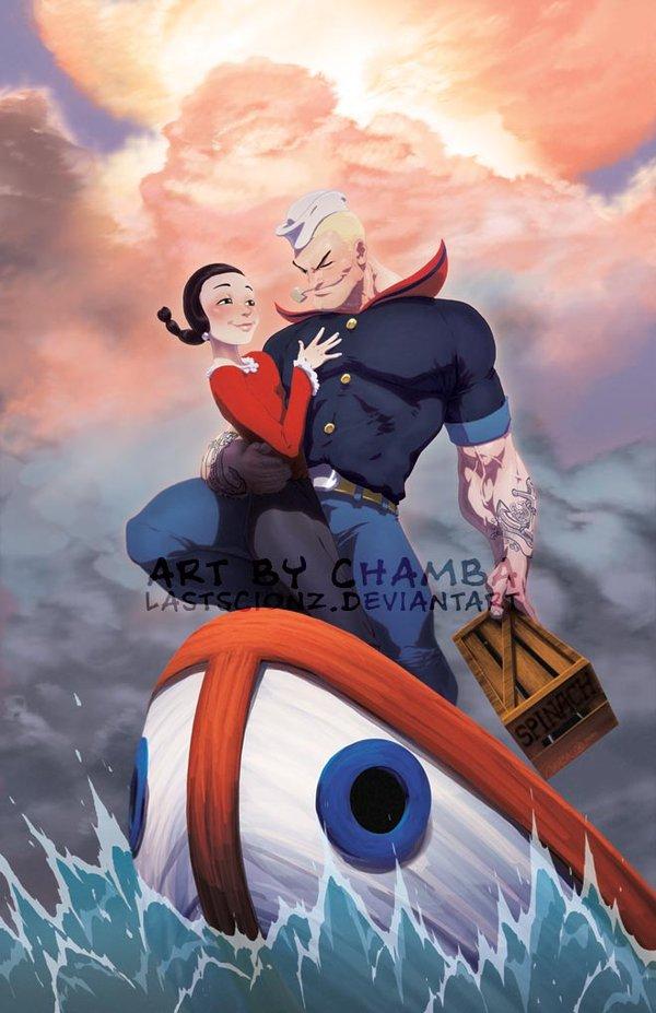 So Cute Boy Wallpaper 29 Artists Interpretations Of A More Realistic Popeye