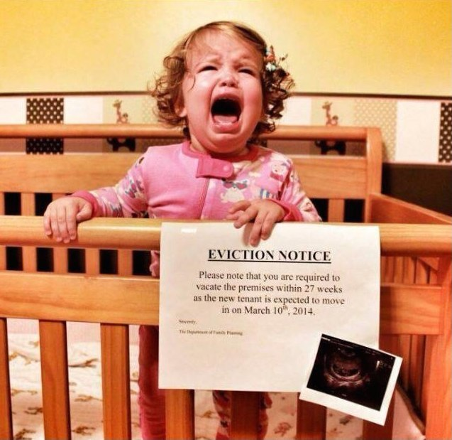 34 Hilarious Baby Announcements That Will Almost Make You Want to