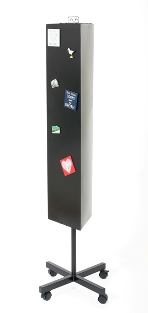 3 Sided Magnet Floor Standing Display Stand | Stands For ...