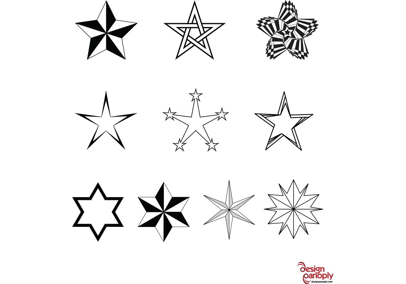 Black Dot Wallpaper Free Vector Stars Pack Download Free Vector Art Stock