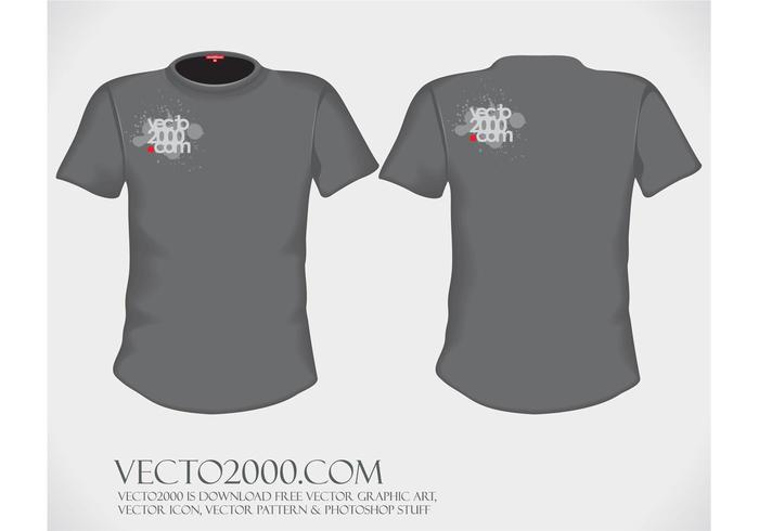 9,000+ T-Shirt Templates Free Vector Art - t shirt template