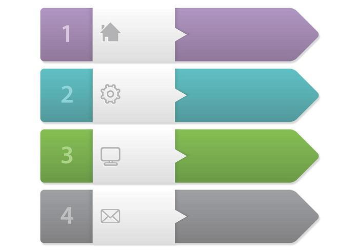 Arrow Label Banner Vector Set - Download Free Vector Art, Stock - label