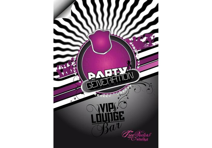 Free Party Flyer Background - Download Free Vector Art, Stock