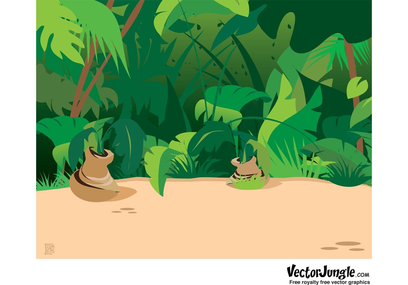 Animated Jungle Wallpaper Jungle Animals Free Vector Art 7590 Free Downloads