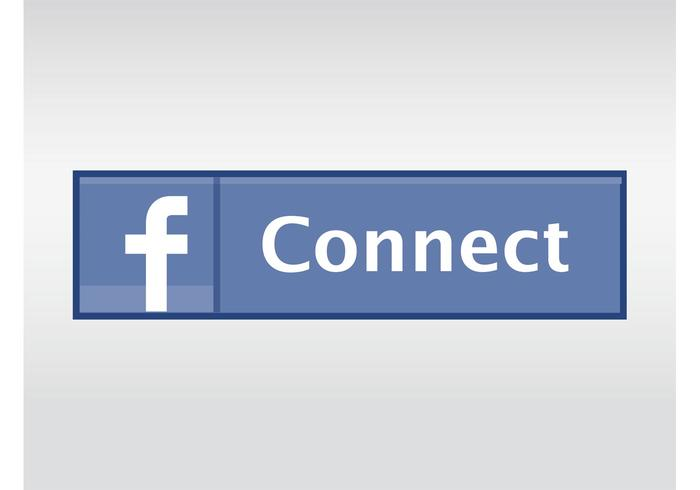 Facebook Connect Button - Download Free Vector Art, Stock Graphics