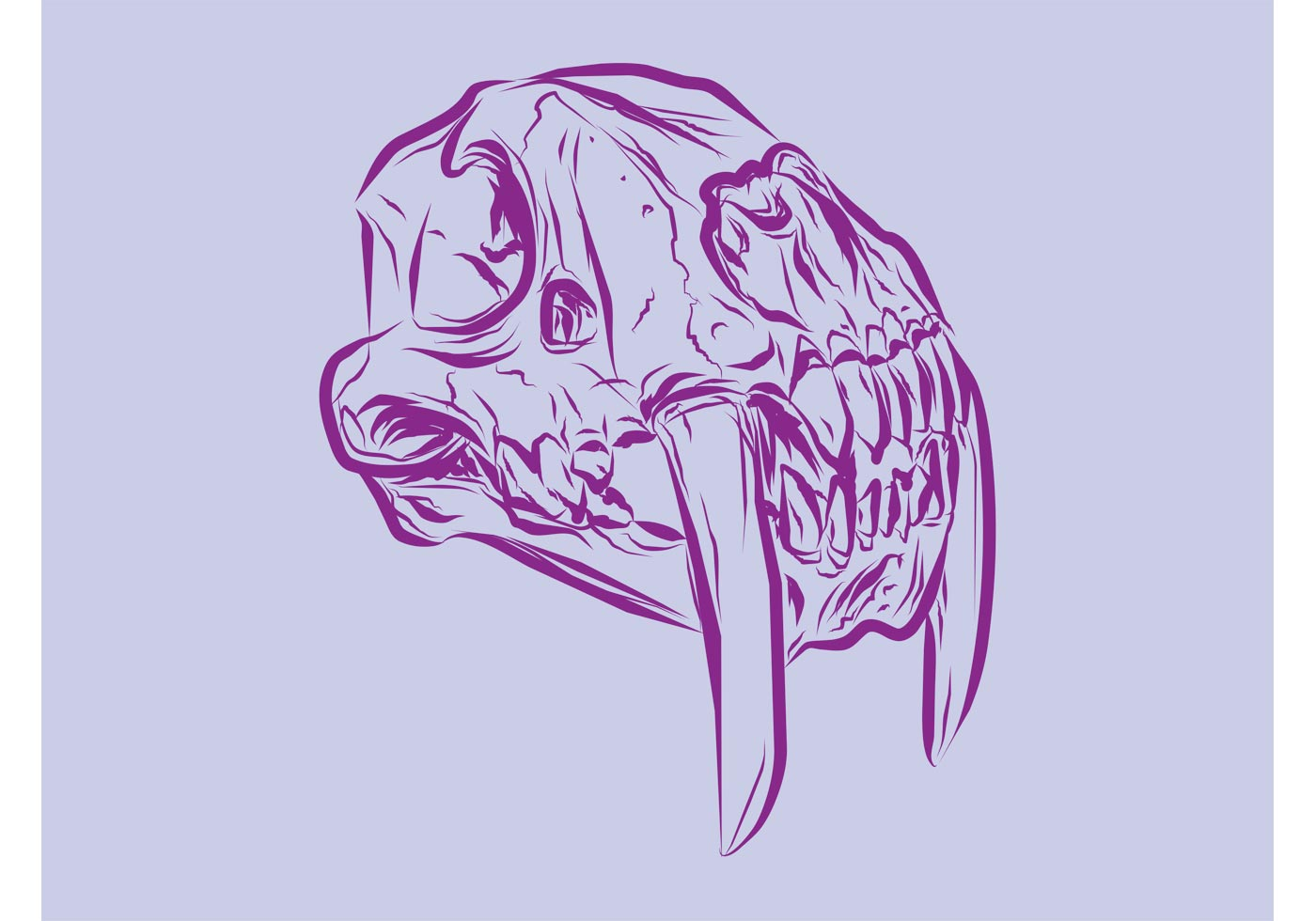 Cute Dia De Los Muertos Wallpaper Animal Skull Vector Download Free Vector Art Stock