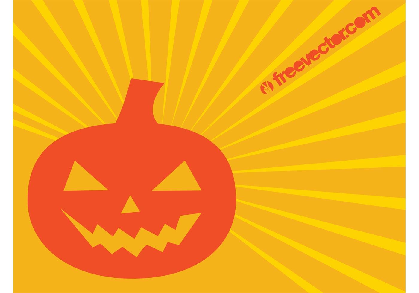 Cute Happy Faces Wallpaper Halloween Pumpkin Vector Character Download Free Vector