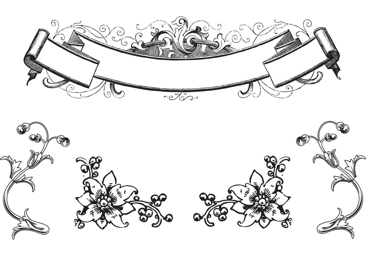 calligraphy clipart circle border