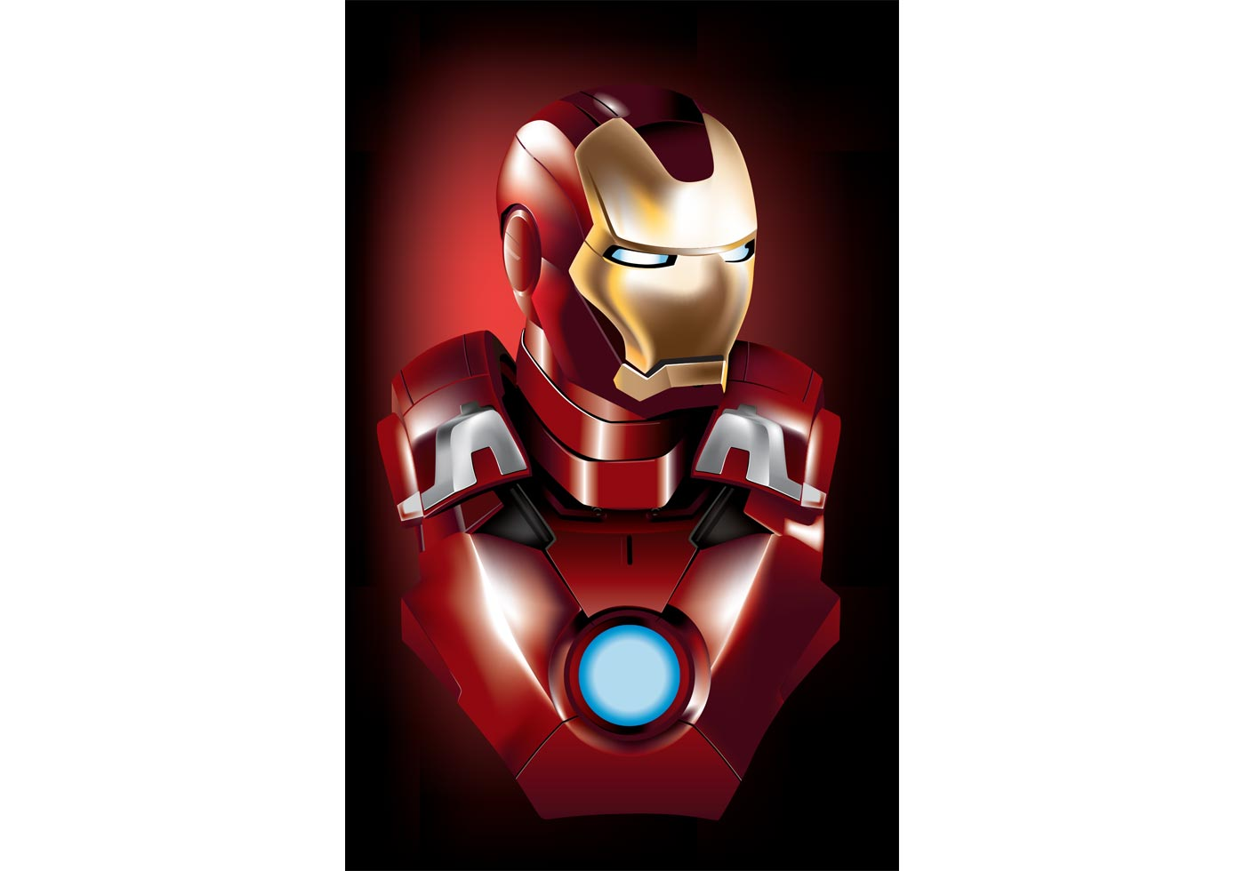Arte Libre Iron Man Vector Superhero Free Vector Art At Vecteezy