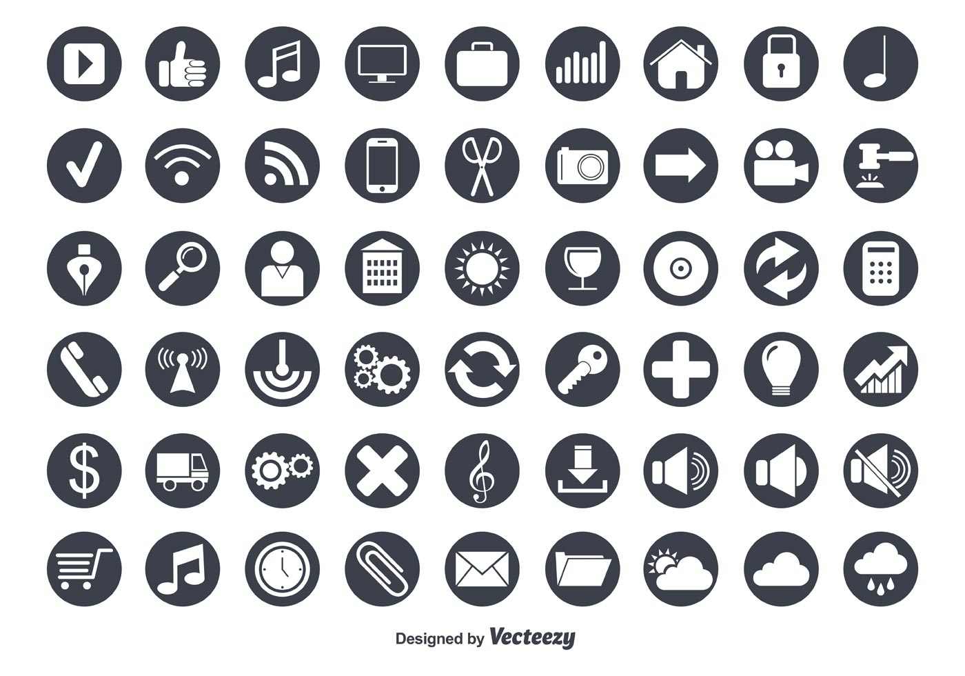 royalty free icons for cv