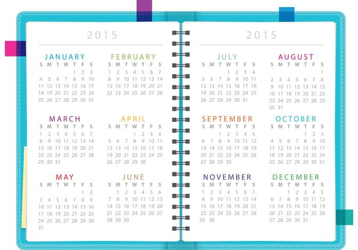 Daily Planner Notebook Vector - Download Free Vector Art, Stock