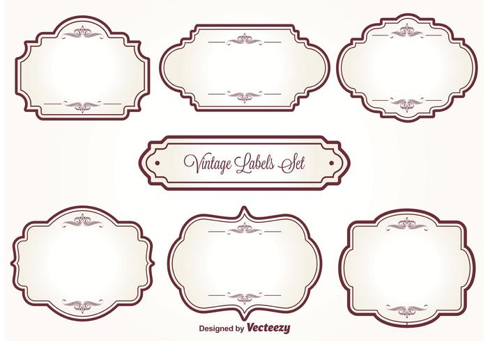 Vintage Label Free Vector Art - (32757 Free Downloads)