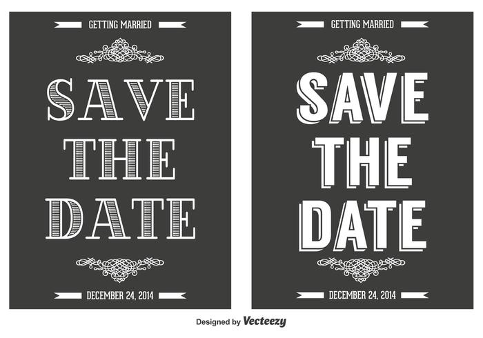 Save the Date Cards - Download Free Vector Art, Stock Graphics  Images