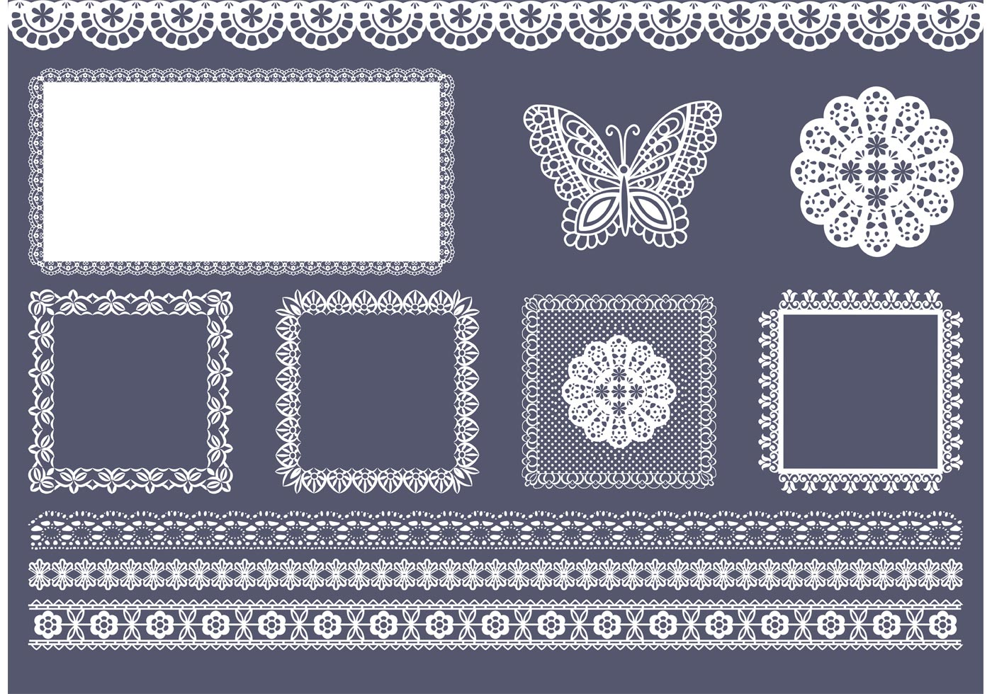 Black And White Victorian Wallpaper Free Vector Square And Border Doily Download Free Vector