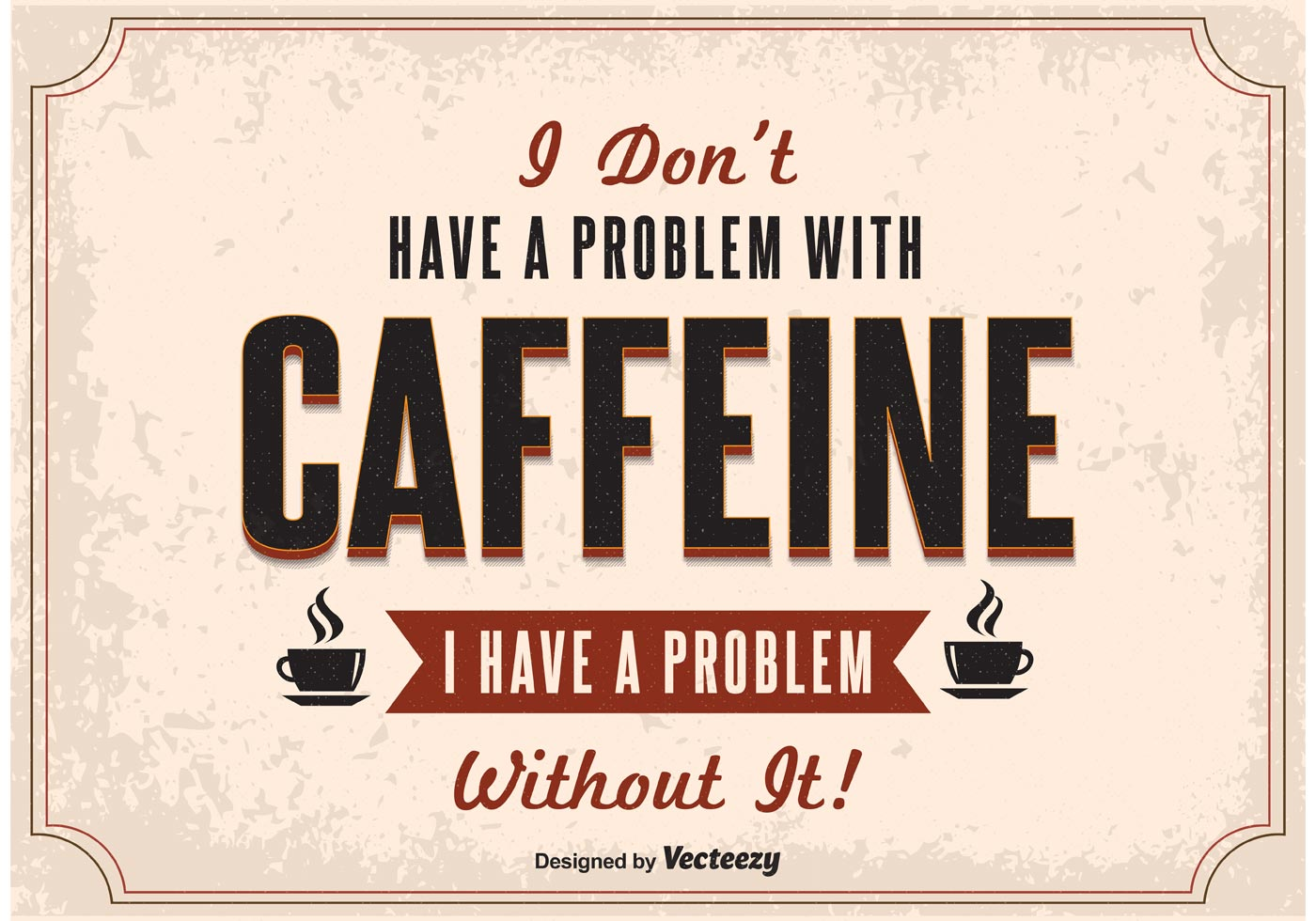 Kaffee Poster Typography Coffee Poster Download Free Vector Art Stock