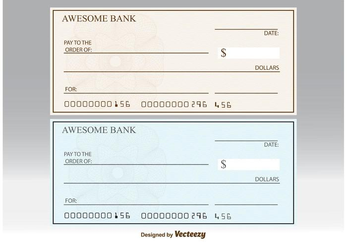 Blank Check Vectors - Download Free Vector Art, Stock Graphics  Images