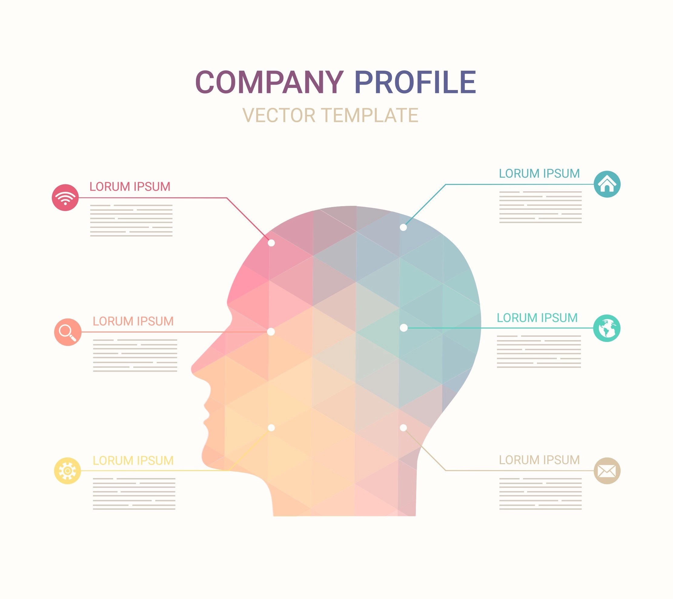 Wtwh Media Llc Free Vector Company Profile Template Download Free