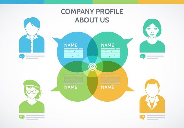 Company Profile Template Vector - Download Free Vector Art, Stock