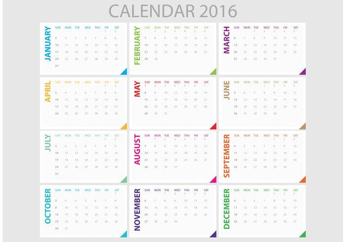 Daily Planner 2016 - Download Free Vector Art, Stock Graphics  Images - free download daily planner