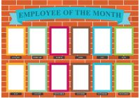 Employee Of The Month Wall Vector - Download Free Vector ...