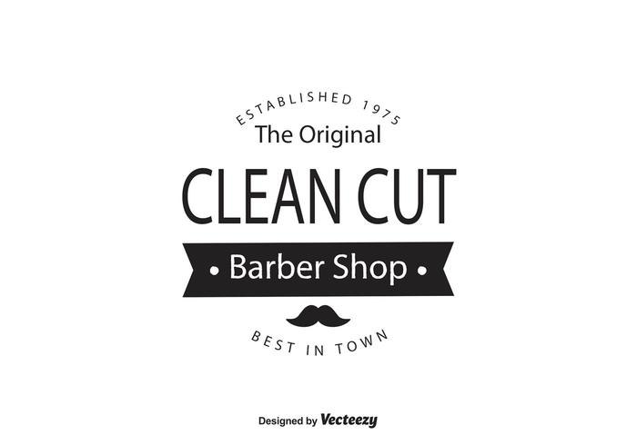 Barber Shop Logo Template - Download Free Vector Art, Stock Graphics - text logo template