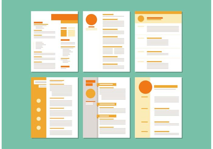 Curriculum Vitae Layout Templates - Download Free Vector Art, Stock - templates